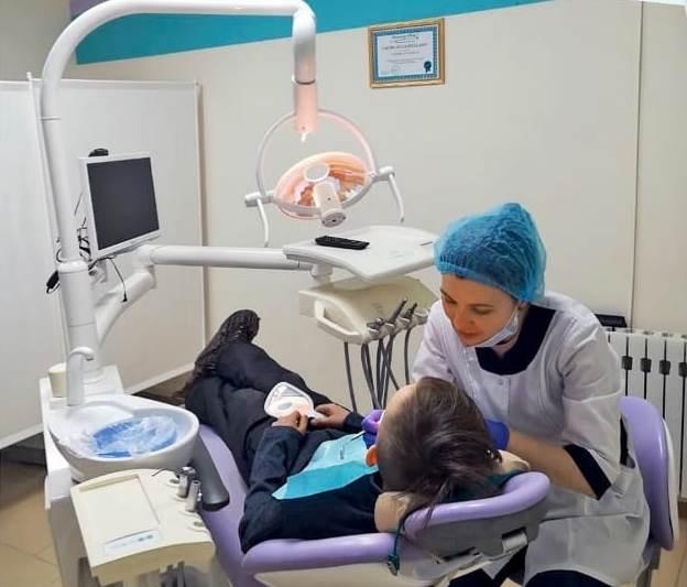 Удаление молочных зубов в Уфе